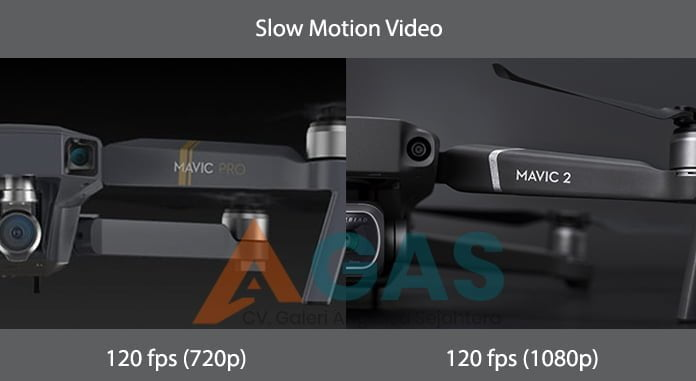 Perbedaan Slow Motion Video DJI Mavic 2 Pro vs DJI Mavic pro