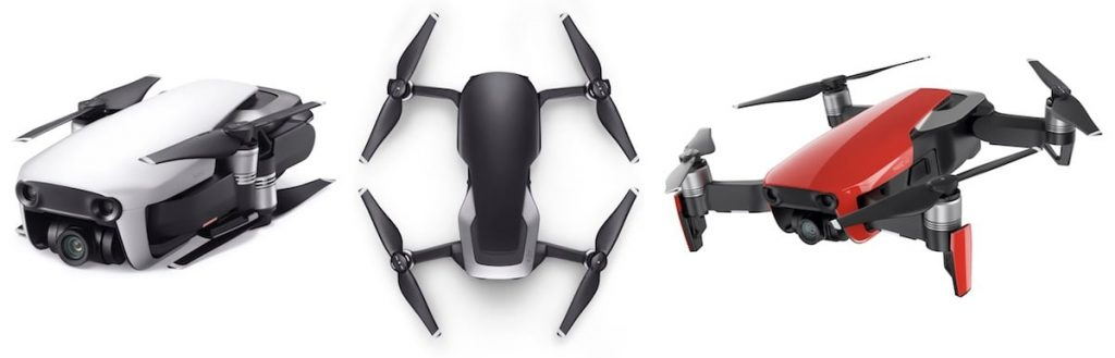 Varian warna DJI Mavic Air